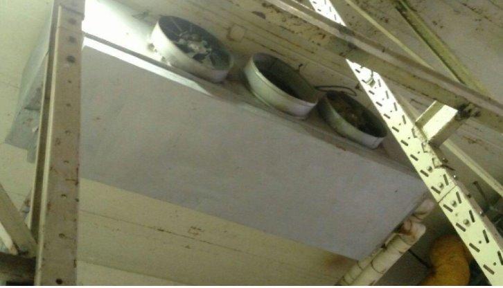 Evaporador 1 - Camara RF 1 - Evaporador Industrial Para Amônia