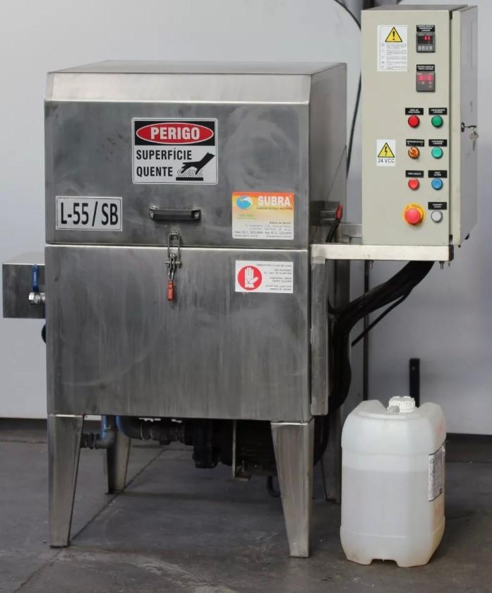 Lavadora De Peças Industrial Inox Semi Automática Subra L55 / SB