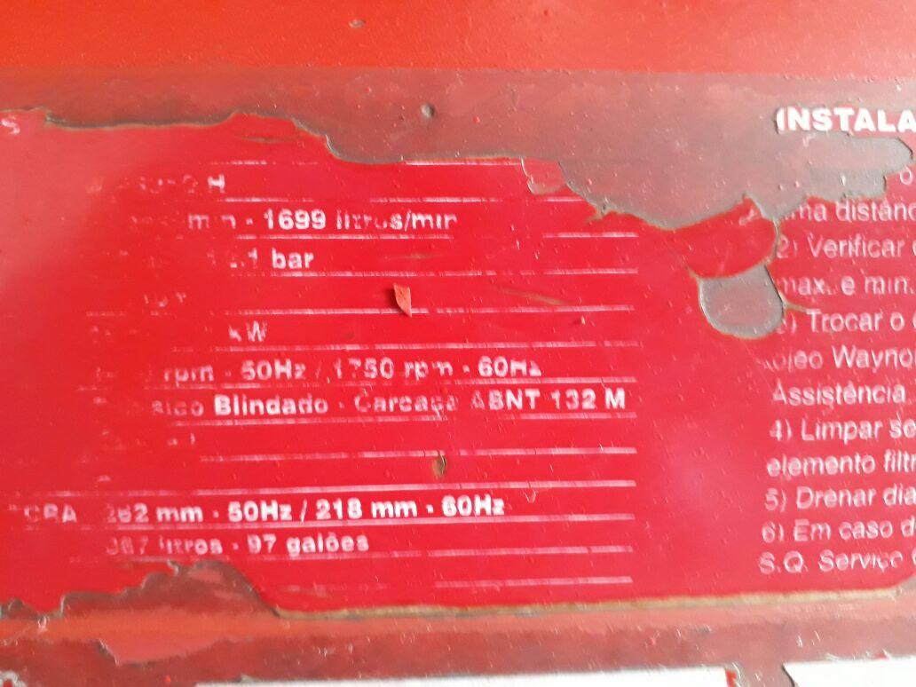 Compressor de Ar Wayne W972 HLC3 1997