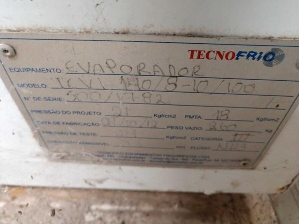 Sucata de Evaporadores TECNOFRIO TEVI 140/8-10/100 2012