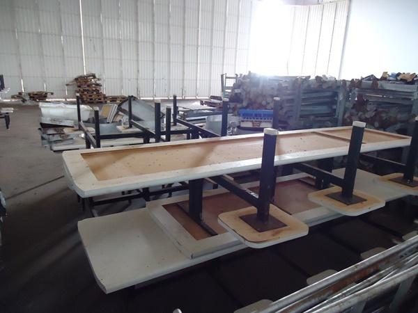 Conjunto de Mesas para Refeitório Industrial
