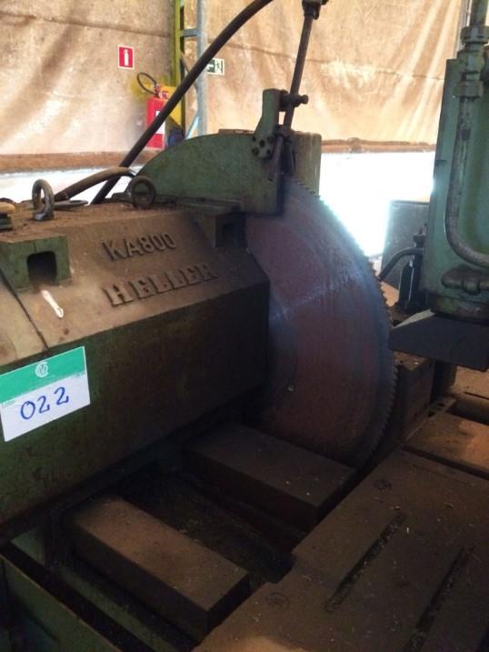 Serra Circular Heller KA800