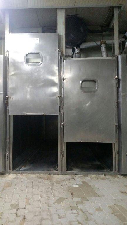 Estufa de Cozimento / Defumação - Em Gabinete de Metálico - (Estufa 10)