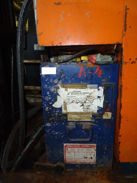 Sucata de Empilhadeiras Elétrica Aprox. 10 ton.
