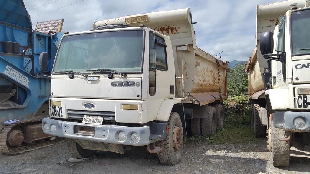 Caminhão Caçamba Ford Cargo 6332E – 2008/2009