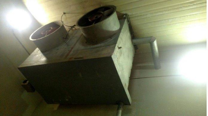 Evaporador 1 - Camara RF 7 - Evaporador Industrial Para Amônia