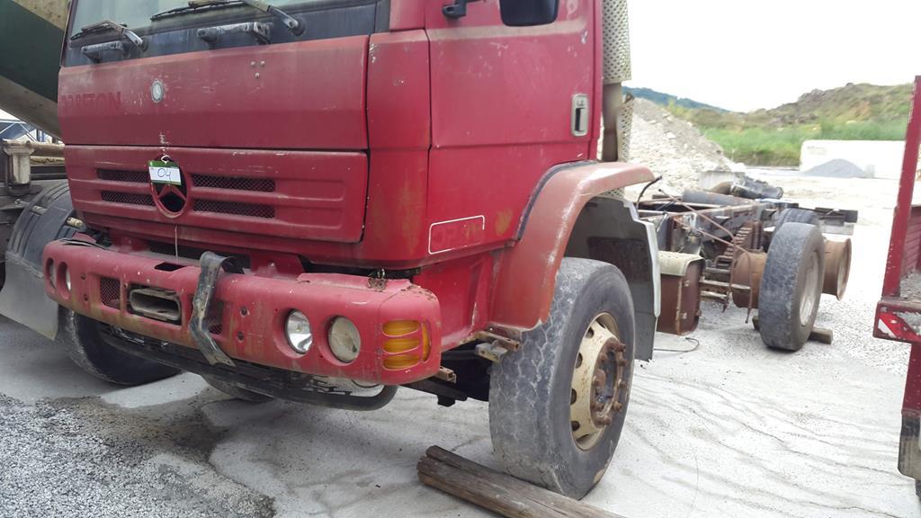 Caminhão Mercedes-Benz 2423B 1999/1999 Betoneira – Sem Implemento