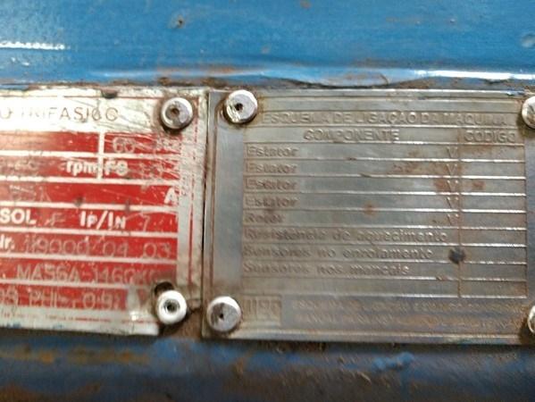 Sucata Motor Elétrico WEG AGA 315D
