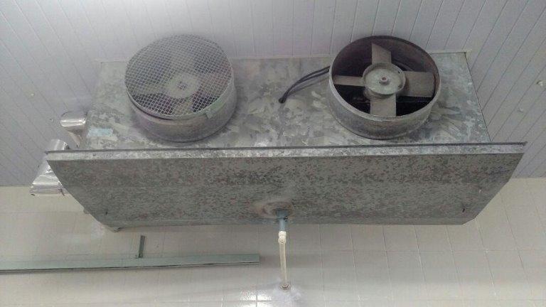 Evaporador 1 - Descong. de MP - Evaporador Industrial Para Amônia