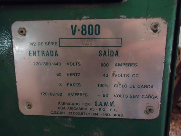 Arco Submerso White Martins V800