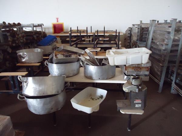 Conjunto de Utensílios para Cozinha Industrial