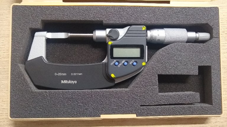Micrômetro Externo Digital