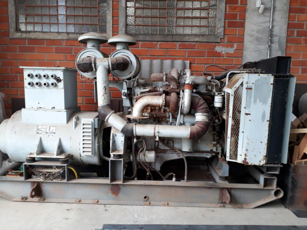 Gerador Negrini ATEC 04E3530 1989 400 Kva