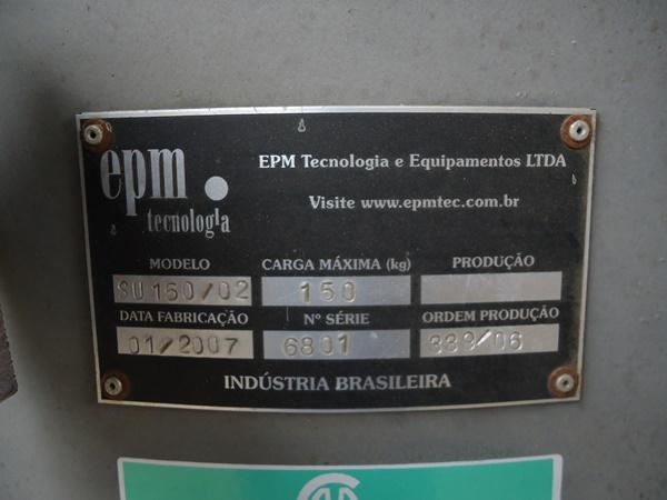 Balança de Fluxo de Milho EPM SU 150/02 2007