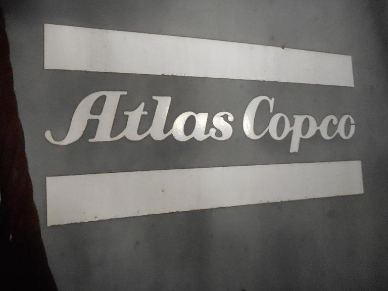 Compressor de ar Elétrico Atlas Copco GA-807-PACK Ano 1981