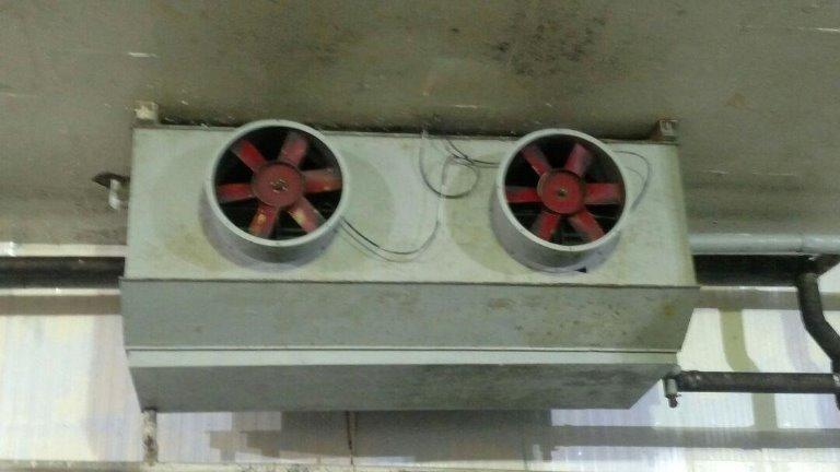 Evaporador - Camara de Congelados - Evaporador Industrial Para Amônia