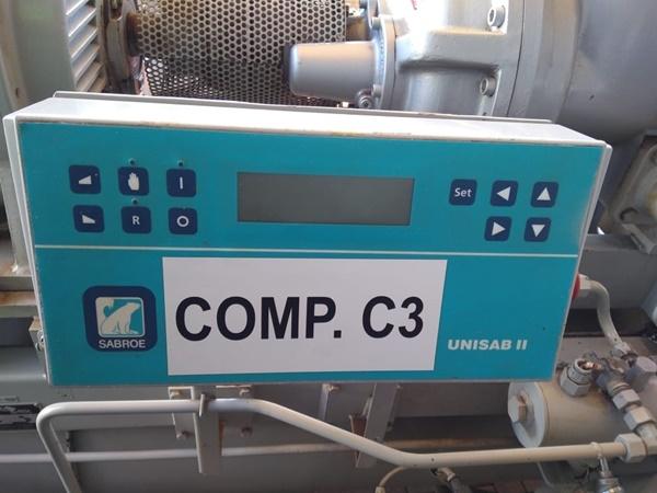Compressor Amônia C3 SABROE SAB 163 HF