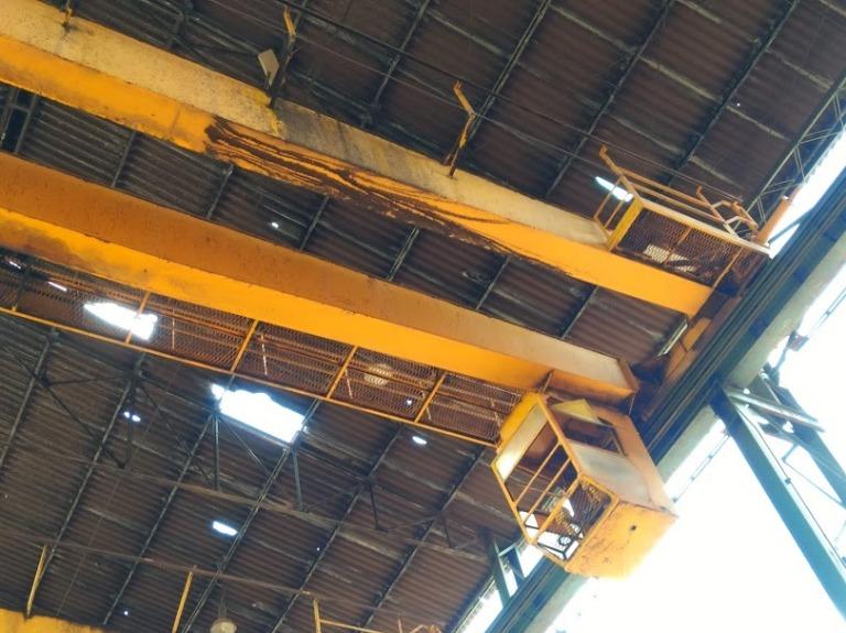 Ponte Rolante Capacidade 30 ton