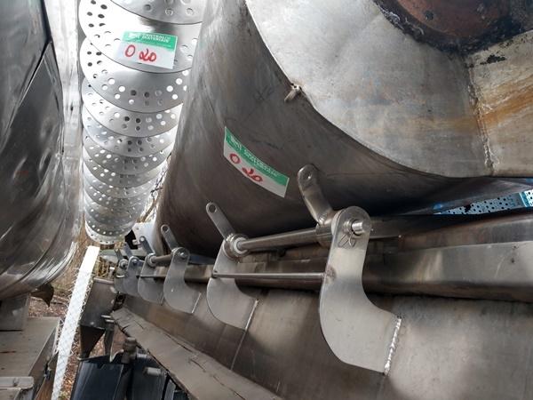 Sucatas Componentes Inox Aprox. 15 Ton