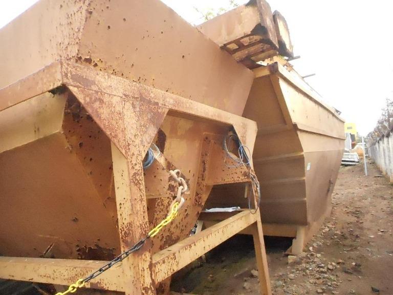 Usina Dosadora de Concreto Convicta Compacta 60 Ano 2005