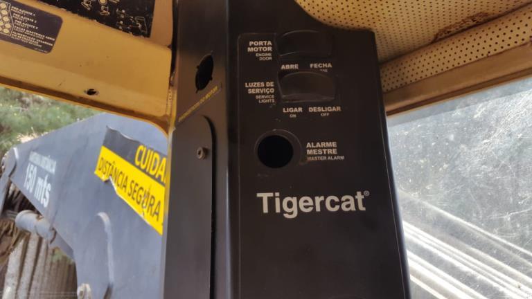 Trator Florestal Tiger Cat H855C Feller Buncher 2010