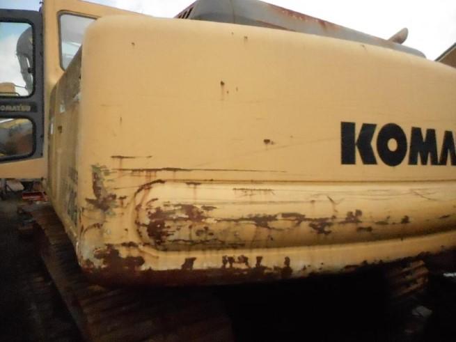 Escavadeira Komatsu PC200-6B Ano 2007