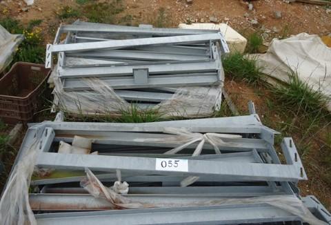 Longarinas Galvanizadas para Porta Pallets