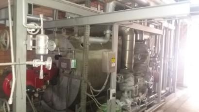 Caldeira à Gás Glp Gnv ou Óleo 1250kw