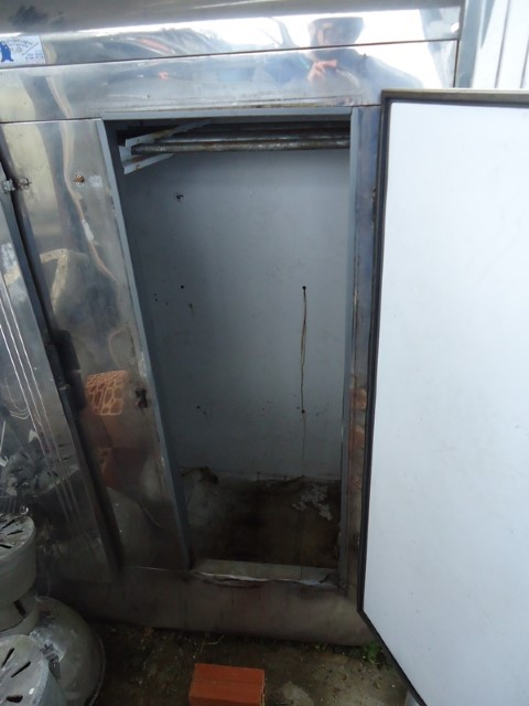 Geladeira ou Câmara Fria Ormifrio em Inox 2 Portas