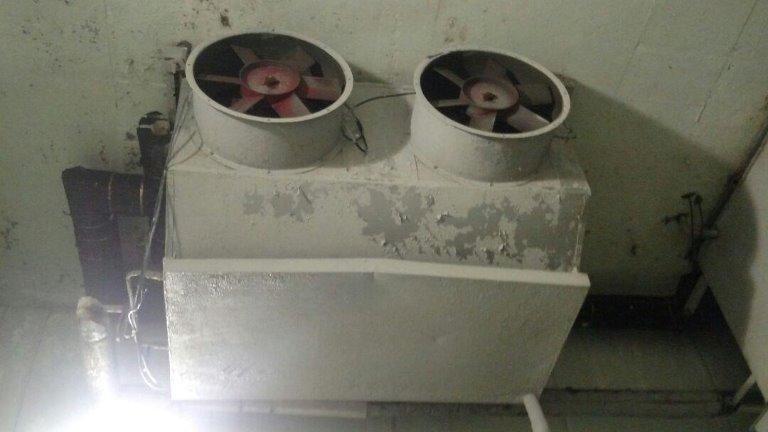 Evaporador 1 - Túnel 4 - Evaporador Ibndustrial Para Amônia