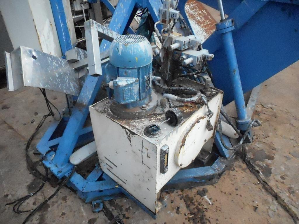 Máquina de Virar Pallets