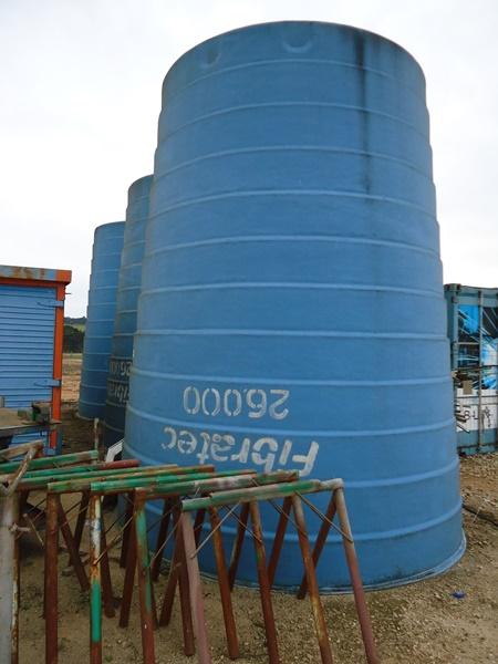 Caixa d'água em Fibra Fibratec Capacidade de 26.000 Litros