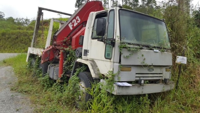 Caminhão Ford Cargo 2622E 2008/2008 Munck/Poliguindaste
