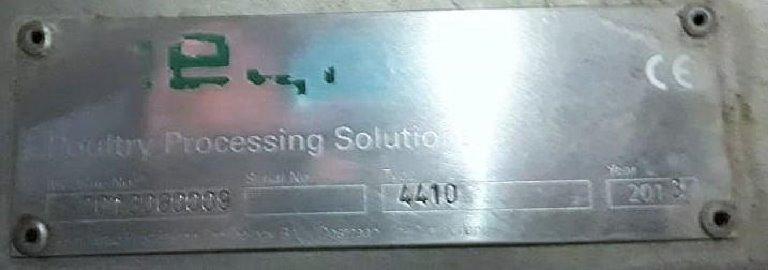 Desossadora de Coxas D100 - Meyn Poultry Processing Solutions Ano 2013