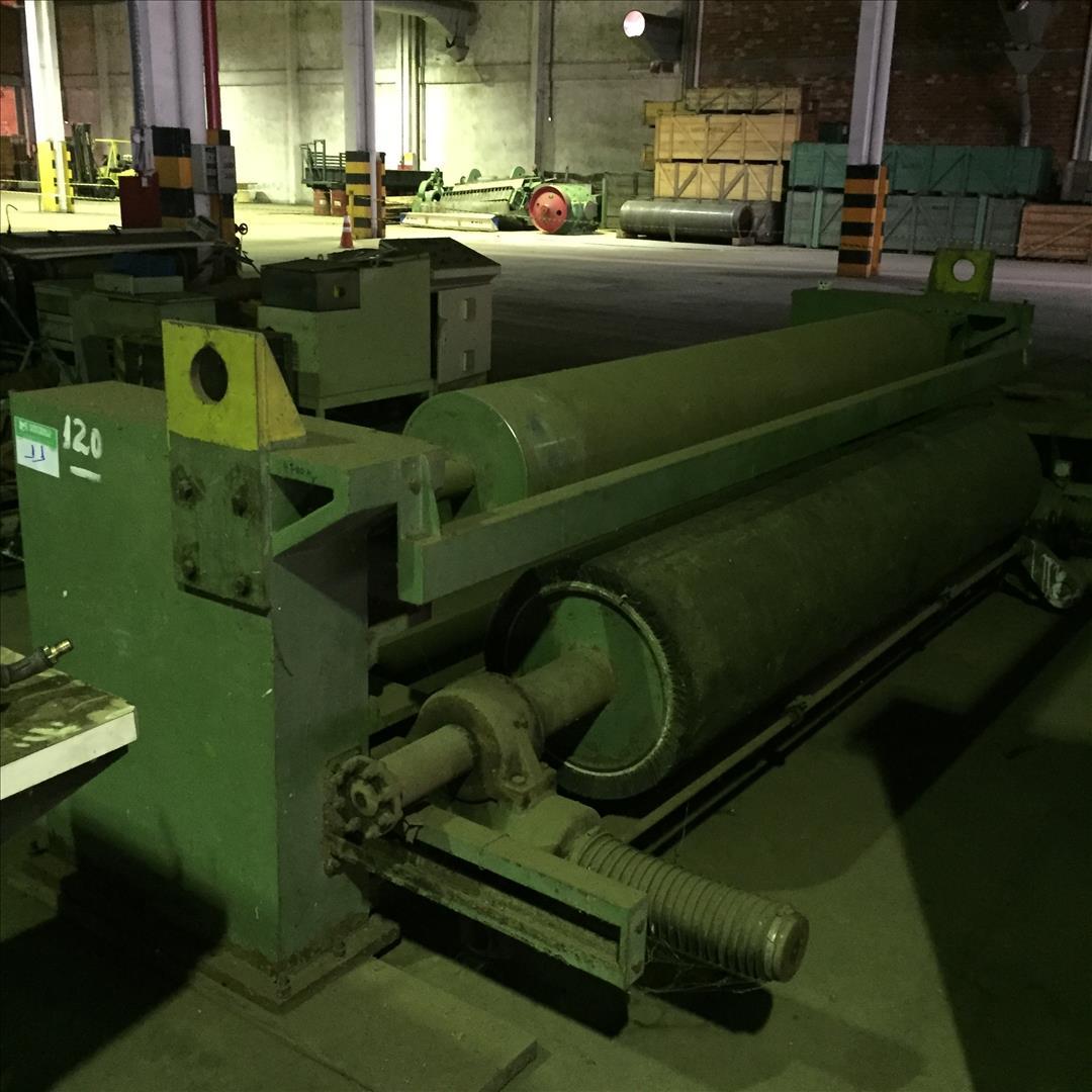Cavalete montado m/dox, c/3 cilindros