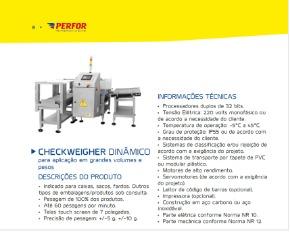 Checkweiger Dinamica Controladora Automatica de Peso Perfor 2014