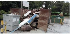 Sucata de Aço Comum aprox. 10 ton retirada imediata e aprox. 20 ton a gerar em 03 meses