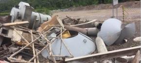 Sucata de Aço Comum aprox 40 ton