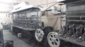 Máquina para Produção de Lã e Palha de Aço