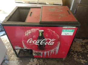 Freezer Horizontal Coca-Cola 280 lts.