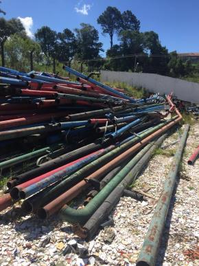 Sucata de Tubos Aprox. 40 ton.