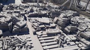 Sucata de Aço Manganês aprox. 50 ton retirada imediata