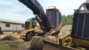 Trator Florestal Tiger Cat H855C Feller Buncher 2010