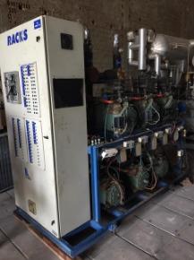 Rack Frigorífico Com 6 Compressores Bitzer Octagon