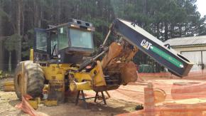 Trator Florestal Skidder Caterpillar 525C 2011
