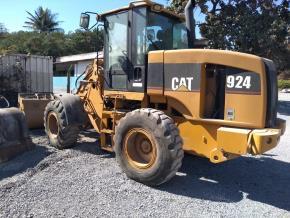 Pá Carregadeira CAT 924G 2005