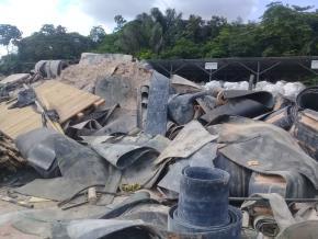 Sucata de Borracha Aprox. 80 ton a gerar em 12 meses