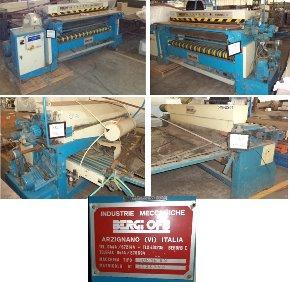 Máquina de Lixar Couro Bergi Hydro Britz 218