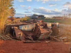 Sucata de Vagões Ferroviários aprox. 1260 ton