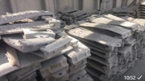 Sucata Aço Cromo com impurezas Aprox. 11 ton